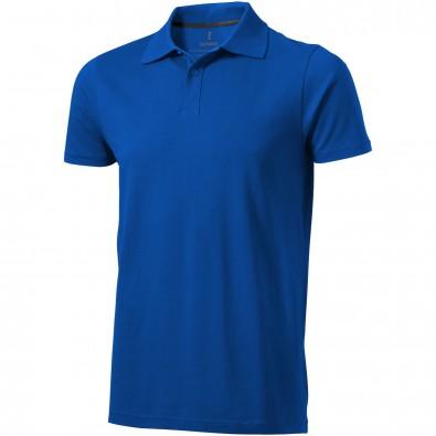 ELEVATE Herren Poloshirt Seller, blau, XL