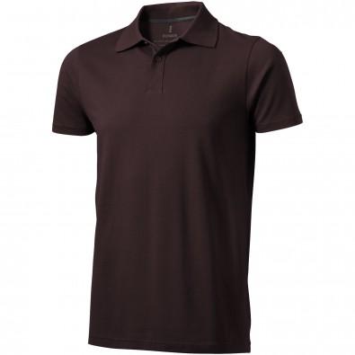 Seller – Poloshirt für Herren, Chocolate Brown, XXL
