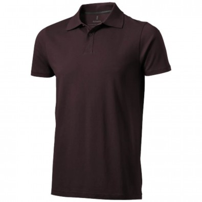 Seller Poloshirt für Herren, Chocolate Brown, XXXL