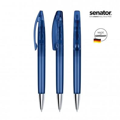 senator® Drehkugelschreiber Bridge Clear MT, blau 2757