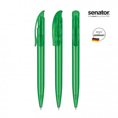 SENATOR Challenger Clear Druckkugelschreiber, grün 347