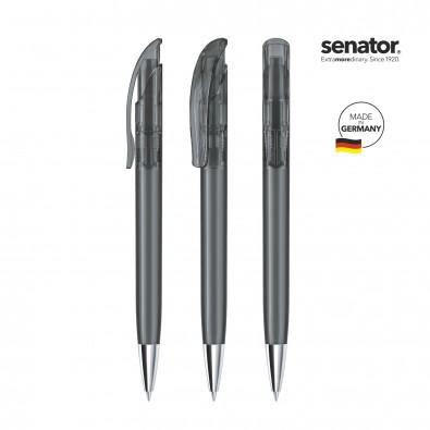 SENATOR Challenger Clear MT Druckkugelschreiber, grau 445
