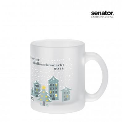 SENATOR Frozen Mug Glashenkelbecher, frosted