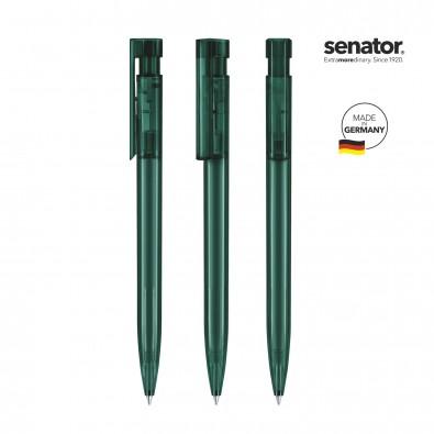 SENATOR Liberty Clear Druckkugelschreiber, grün 7484