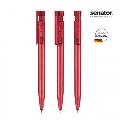 SENATOR Liberty Clear Druckkugelschreiber, rot 201