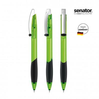 SENATOR Matrix Clear Druckkugelschreiber, grün 376