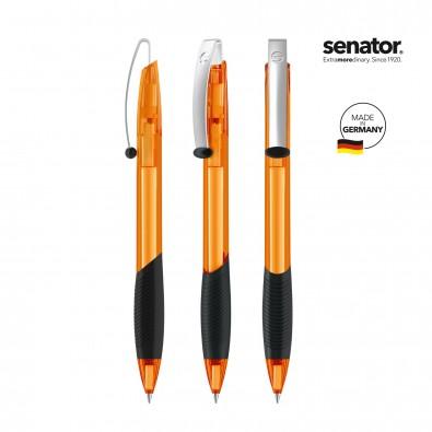 SENATOR Matrix Clear Druckkugelschreiber, orange 151