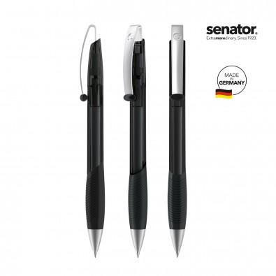 SENATOR Matrix Clear MT Druckkugelschreiber, schwarz