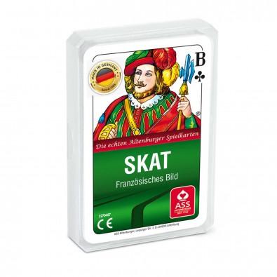 Skat-Spiel, inkl. Druck auf Rückseite, 3-farbig