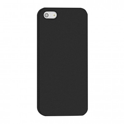 Smartphonecover REFLECTS-COVER V Rubber IPhone 5/5S, schwarz