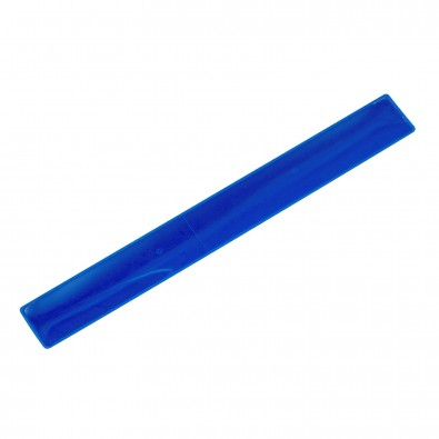 "Snap-Armband ""Midi"", transparent-blau"
