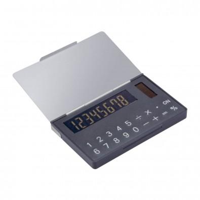 Solartaschenrechner mit Visitenkartenbox PERNIK
