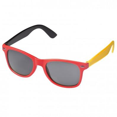 """Sonnenbrille """"Nations"""", Schwarz-Rot-Gold, Deutschland-Farben"""