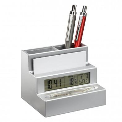Stifthalter mit Uhr HARLEM