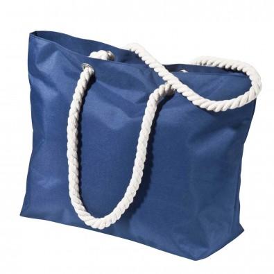 """Strandtasche """"Miami Beach"""" mittel, blau"""