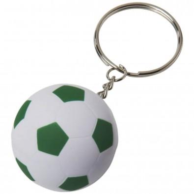 Striker Fußball Schlüsselanhänger, weiss,grün