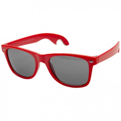Sun Ray Sonnenbrille mit Flaschenöffner, rot