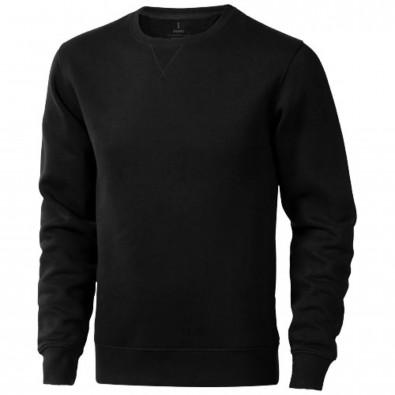Surrey Sweatshirt mit Rundhalsausschnitt unisex schwarz | XXXL