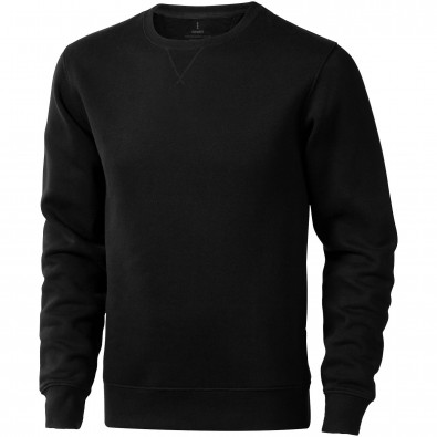 Surrey Sweatshirt mit Rundhalsausschnitt unisex, schwarz, XXXL