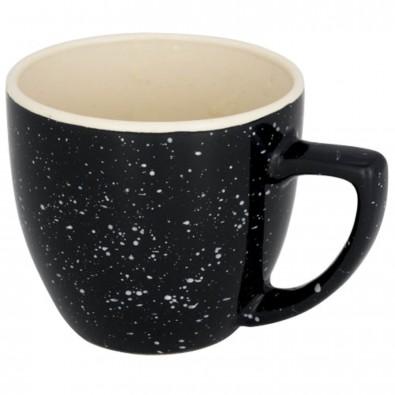 Sussix 325 ml gesprenkelte Tasse grau
