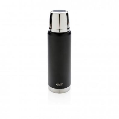Swiss Peak Elite 0.5l Kupfer Vakuum Flasche, schwarz