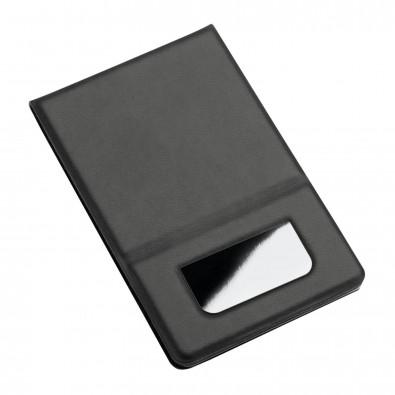 Taschenspiegel REFLECTS-HARBEL, schwarz