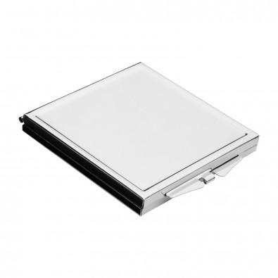 Taschenspiegel REFLECTS-PORLAMAR, silber
