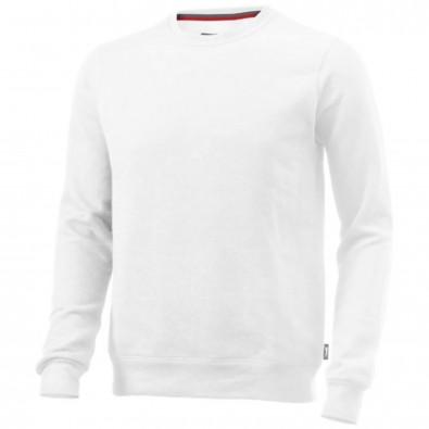 Toss Sweat Shirt mit Rundhalsausschnitt, weiss, L