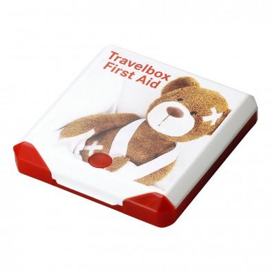 Travelbox First Aid, mehrfarbig