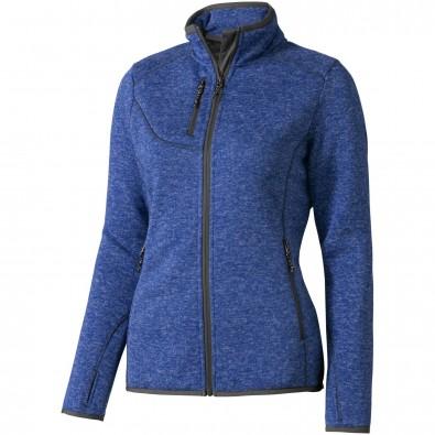 Tremblant Strickfleecejacke für Damen, heather blau, XS