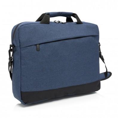 """Trend 15"""" Laptoptasche, blau,schwarz"""