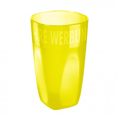 Trinkbecher Maxi Cup 0,4 l, trend-gelb PP