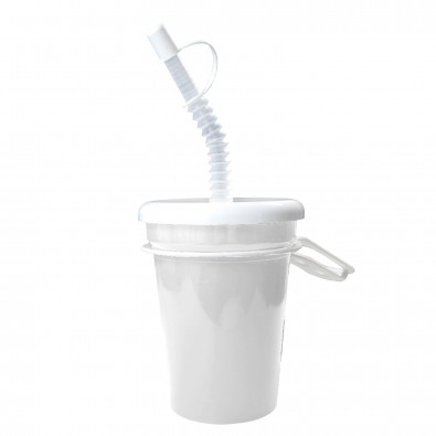 Trinkbecher Take Away 0,3 l, weiß