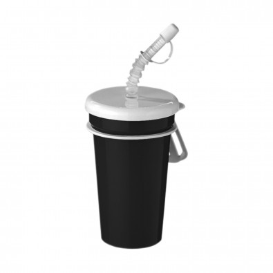 Trinkbecher Take Away 0,4 l, schwarz