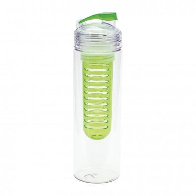 reflects® Trinkflasche mit Fruchtbehälter Jolietta, grün