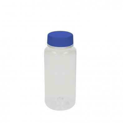 "Trinkflasche ""Refresh"" klar-transparent 0,4 l, transparent/blau"