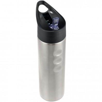 Trixie 750 ml Edelstahl Sportflasche, silber