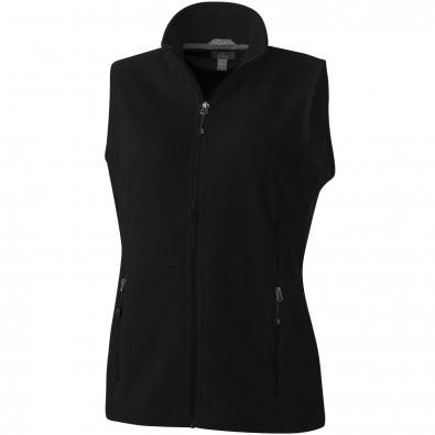 Tyndall Damen Fleece Bodywarmer, schwarz, L