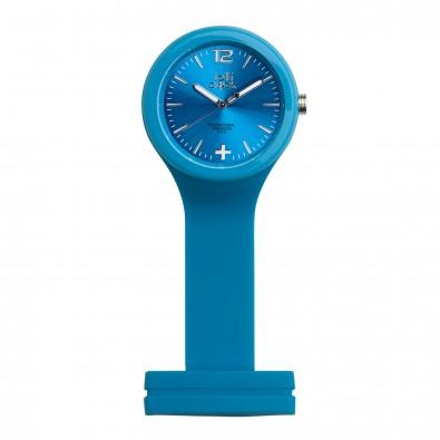 Uhr LOLLICLOCK-CARE, hellblau