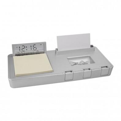 USB-Hub mit 3 Anschlüssen und Schreibtischset RUMIA