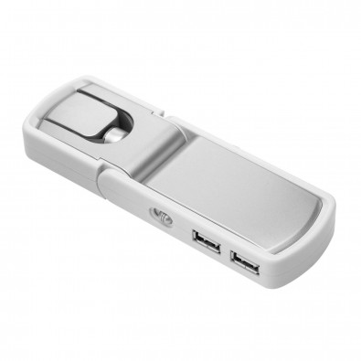 USB-Hub mit 4 Anschlüssen und Ventilator REFLECTS-OAKVILLE