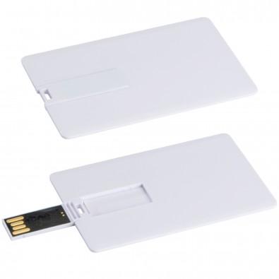 USB-Karte mit 8GB Speichervolumen, weiss