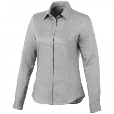 Vaillant Damen Langarm Bluse, Steel grey, XL