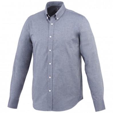 Vaillant langärmliges Hemd, navy, M