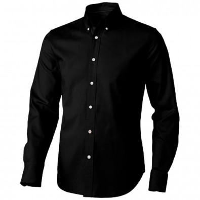 Vaillant langärmliges Hemd, schwarz, XXXL