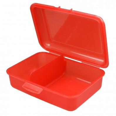 Vorratsdose School-Box mittel mit Trennwand, trend-rot PP