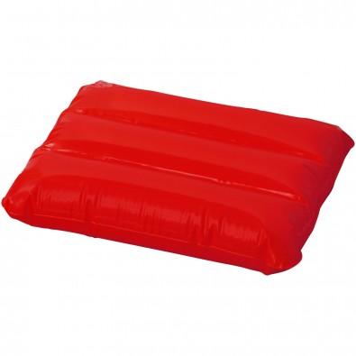 Wave aufblasbares Kissen, rot