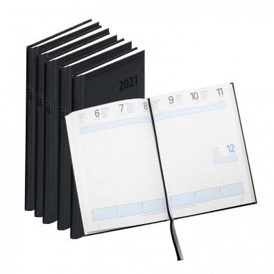 Werbe-Set: 50 Terminax Kalender mit Bedruckung, Schwarz