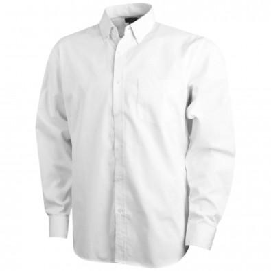 Wilshire Langarm Hemd weiss