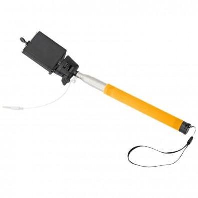 Wire Selfie Stick, orange